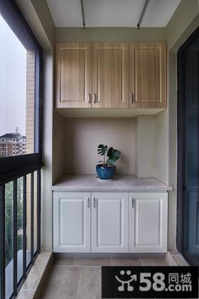 现代简约家居阳台装潢案例