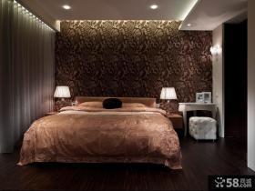 卧室砂岩背景墙装修效果图