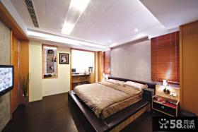 现代主人房卧室装修