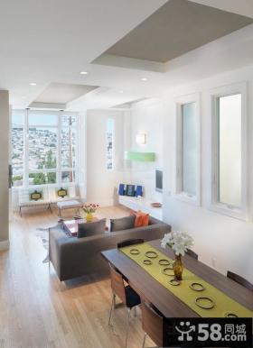 简约风格的家装客厅装饰设计图片