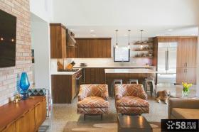 美式设计装修厨房橱柜欣赏大全