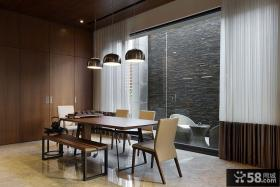 现代日式风格餐厅设计图