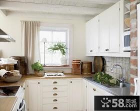 复式楼厨房橱柜装修效果图大全2013图片