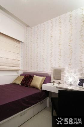 小卧室壁纸装饰图片