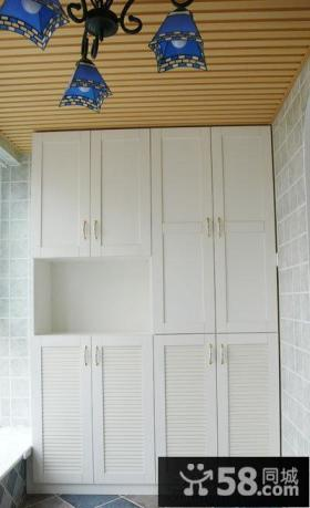 简欧厨房壁柜装修效果图