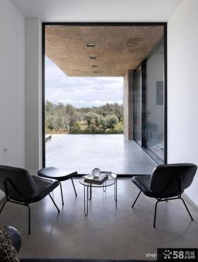 开放式阳台装修效果图 室外阳台装修设计