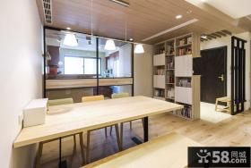 简约日式风格餐厅设计2015