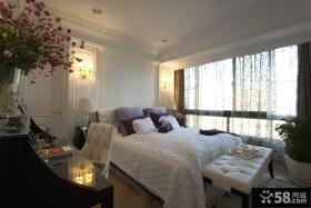 美式简约风格唯美卧室装修图