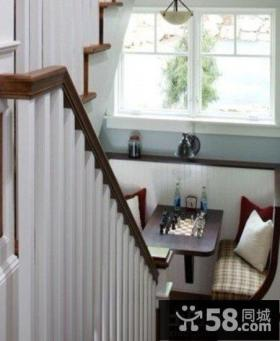 北欧风格农村小别墅楼梯设计图