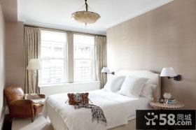 90平米小户型北欧小清新卧室装修效果图