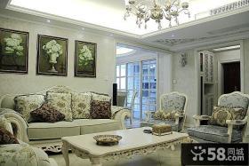 华丽欧式三居装修案例