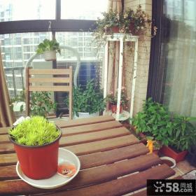 美式风格装饰阳台