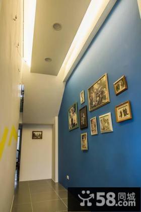 简约温馨三居房间布置效果图片