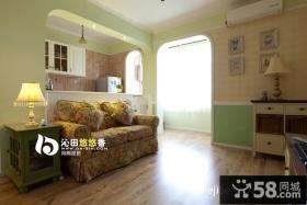 小户型家装客厅装修设计图