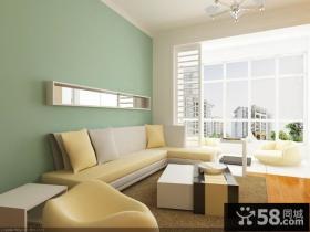 优质现代客厅电视背景墙装修效果图大全2013图欣赏