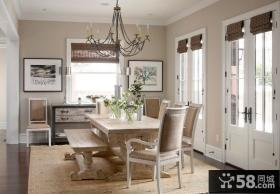 简洁大气的美式风格装修效果图卧室图片