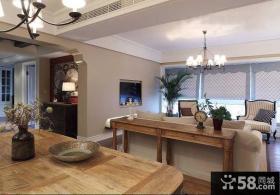 美式简约风格别墅室内装修设计