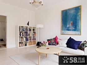 60平米小户型客厅装修效果图大全2013图片