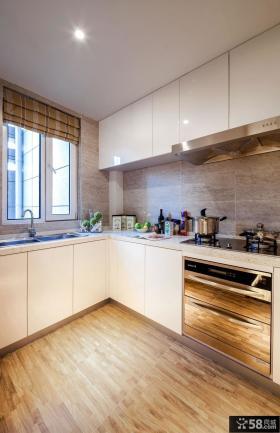 简约装修设计厨房橱柜效果图