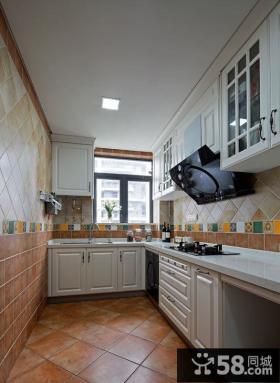 简欧风格别墅厨房设计效果图片