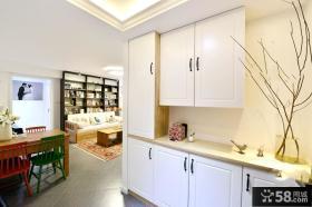 北欧风格两室两厅厨房装修效果图片