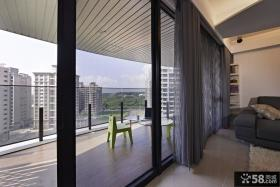 豪华室内阳台设计效果图