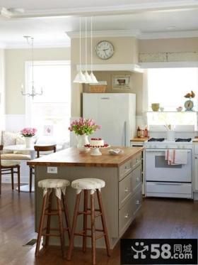 简欧式装修厨房效果图