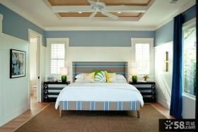 欧式简约主卧室装修效果图大全2013图片