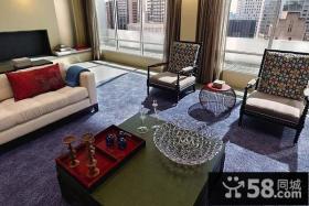70万打造200平米美式客厅装修样板间