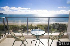 海边景观阳台设计