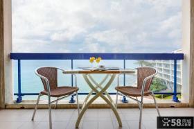 家庭设计海边阳台图片大全