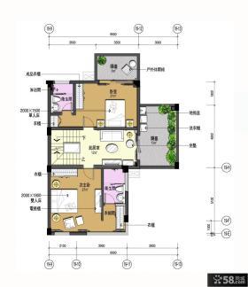 三层农村别墅户型图