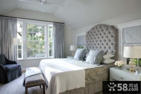 宜家卧室背景墙装修效果图