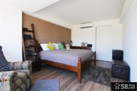 美式复古公寓卧室装修案例图片