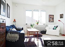 60平米小户型极简客厅装修效果图大全