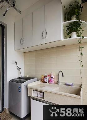 现代洗衣房阳台装修案例