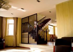 复式楼楼梯隔断效果图