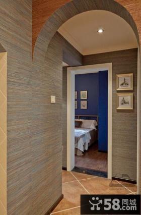 美式田园风格90平米家居设计装修效果图