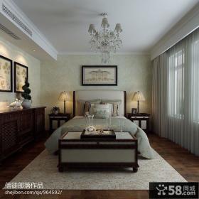 欧式风格卧室吊顶灯具装饰