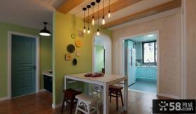 温馨美式家居餐厅装修效果图