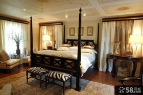 欧式主卧室装修设计效果图片欣赏