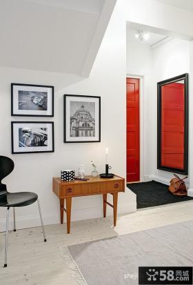时尚现代风格斜顶阁楼装修效果图大全