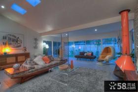 美式风格装饰设计客厅图大全
