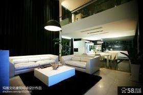 最新复式客厅装修效果图大全2013图片