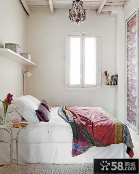 45平米小户型温馨浪漫的卧室装修图片