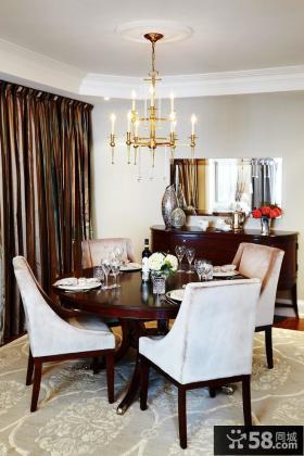 家装餐厅设计效果图两室两厅