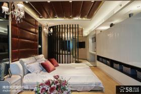 客厅卧室隔断设计效果图