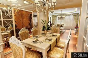 欧式豪华西餐厅设计效果图大全
