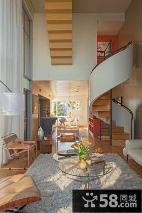 现代美式设计豪华别墅装修图片
