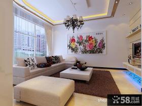 欧式客厅装修效果图 客厅背景墙装修效果
